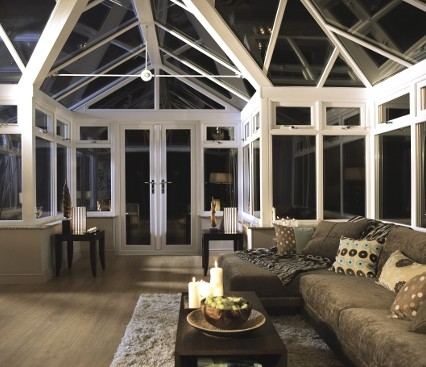 Bespoke Conservatory Interior view