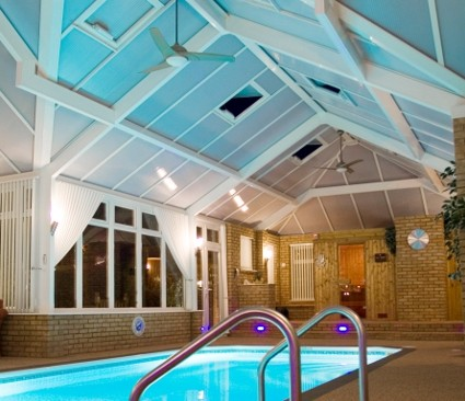 Bespoke Conservatory with swimming pool