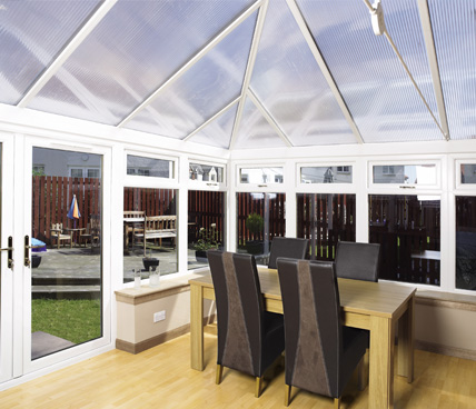 Edwardian Conservatory modern interior
