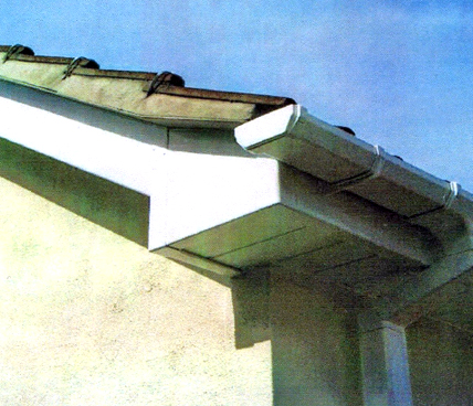fascia corner view
