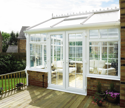 Gable Conservatory leading out to deck