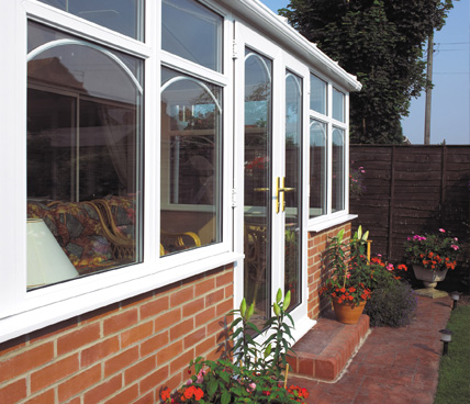 Lean To Conservatory long angle view