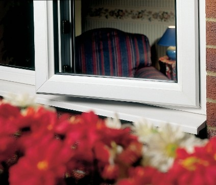 Triple Glazed Window close up