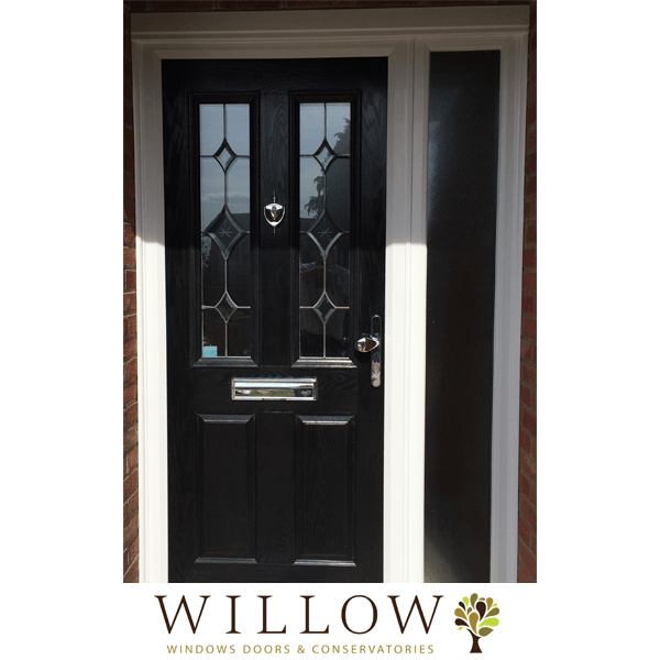 composite door with sidelight