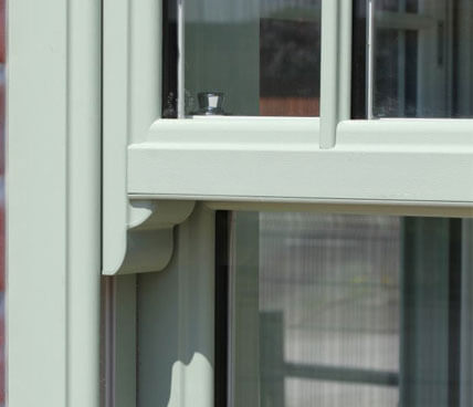 Evolve Vertical Sliding Window Sash Horn