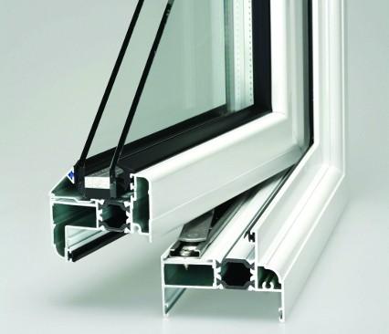 Aluminium Window cross section