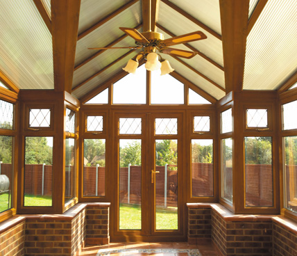 Light Oak Bespoke Conservatory