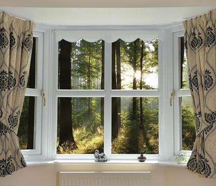 Interior Bow Window view