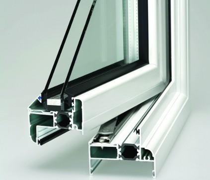 Double Glazed window cross section
