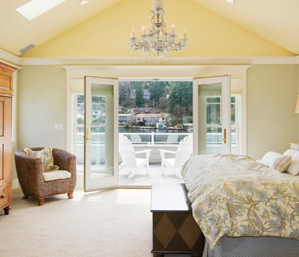 French Door leading out of bedroom