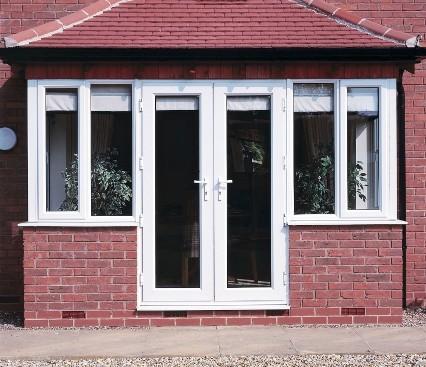 French Door front view