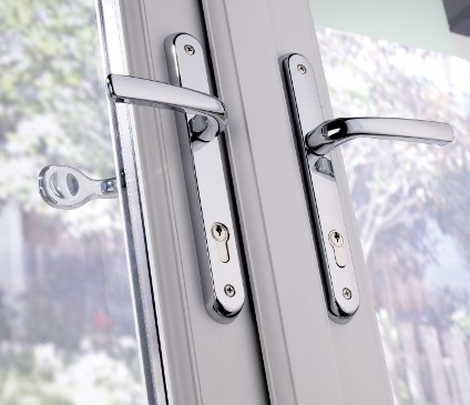 French Door Handle close up