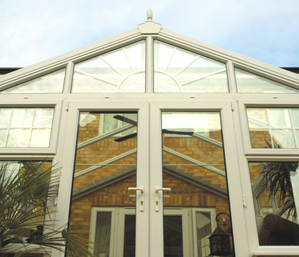 Gable Conservatory low angle view