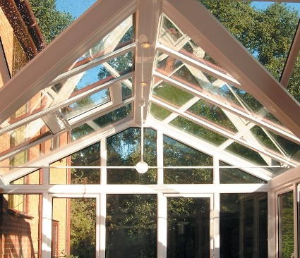 Gable Conservatory roof close up