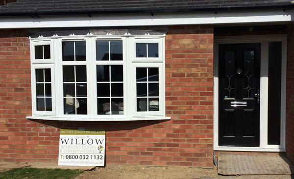 Bay Window and Composite Door